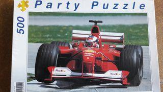 puzzle Ferrari Fórmula 1 - 500 piezas