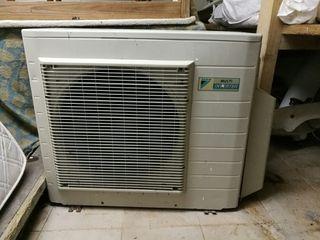 Maquina aire acondicionado