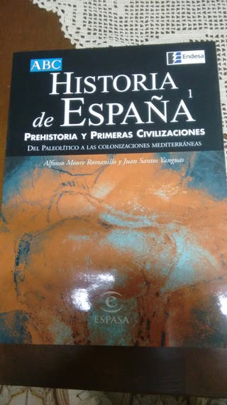 14 tomos de historia de España