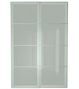 Recambio cristal puerta corredera armario ikea de segunda for Puerta corredera cristal ikea