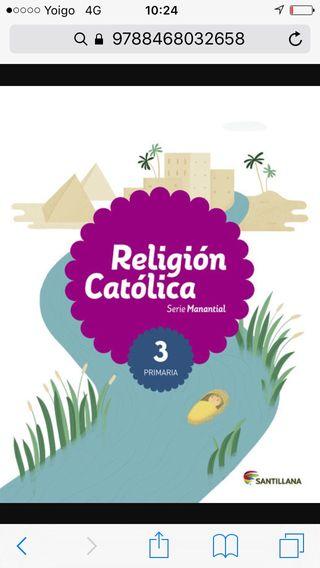 Libro religion 3 primaria