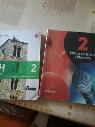 libros 2o Eso , vàlid curs vinent Ies Joaquim Bau