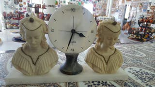 reloj marmol