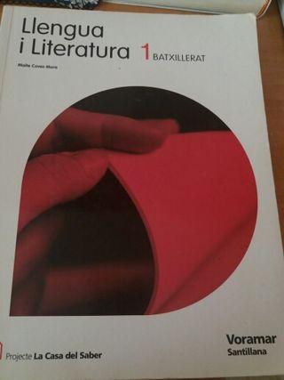 Libro Valenciano 1 bachiller