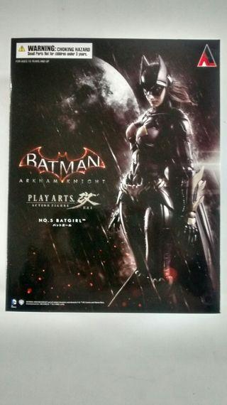 Figura Batgirl Play Arts Kai Batman Arkham Knight