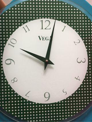 Reloj de cocina cristal