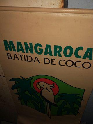 Cartel publicitario de mangaroca. ref 0023