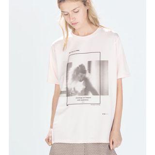 Camiseta zara nueva