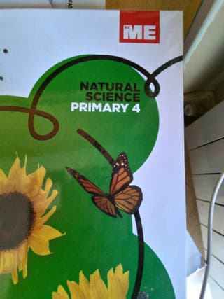 Libro escolar Natural Science 4