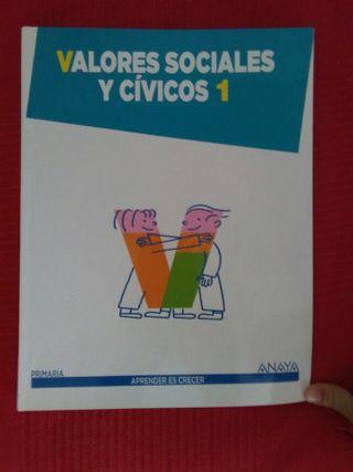 Valores sociales y civicos 1