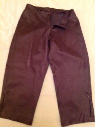 Pantalon Vintage d BLANCO Pirata Talla 34