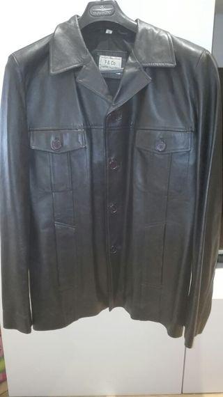 chaqueta piel hombre T-S