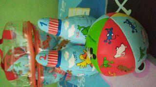 Juego de bolos infantil