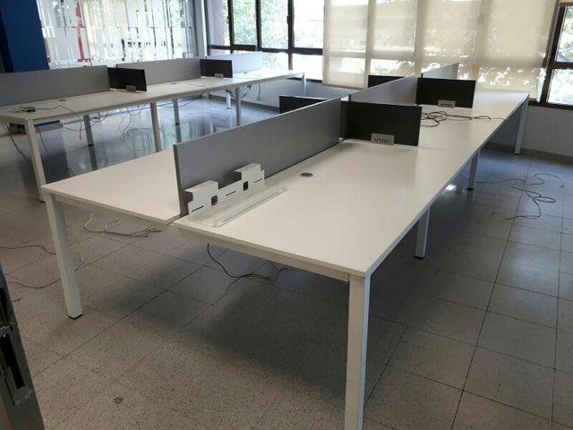 Mesas de oficina multipuesto de 6 de segunda mano por 600 € en ...