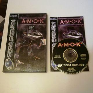 AMOK Sega Saturn