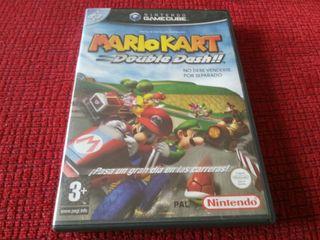Mario kart double dash gc nintendo game cube