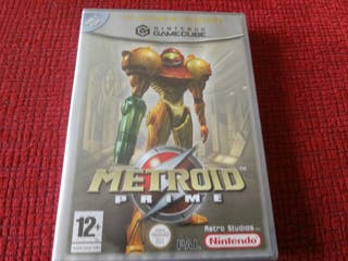 Metroid prime gc nintendo game cube