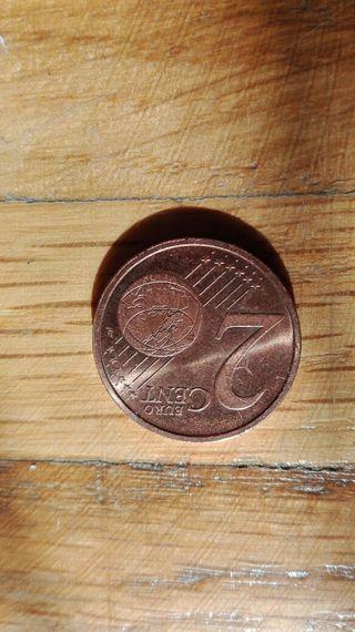 Moneda de 2 céntimos Andorra