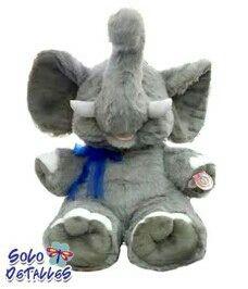 elefante peluche gigante