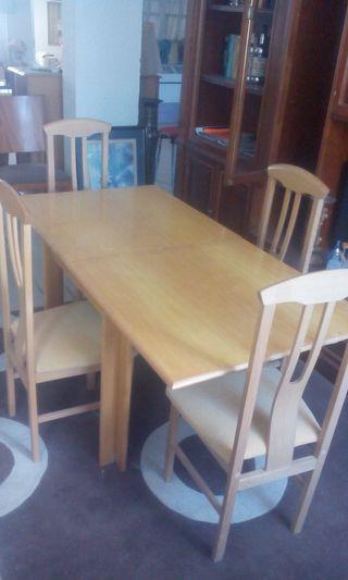 Mesa madera completa