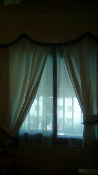 cortinas, galería y visillos