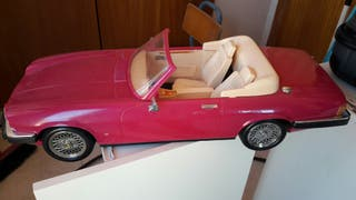 coche barbie descapotable