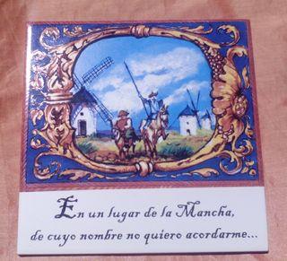 Azulejo Quijote