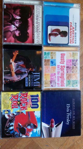 cds música soul y rock & roll