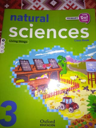 Natural sciences 3 de primaria