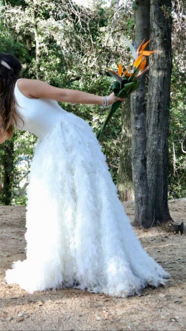 vestido novia jordi anguera de segunda mano por 500 € en terrassa en