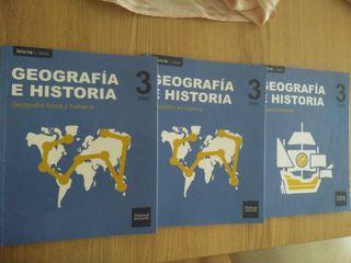 Libros Geografía e Historia 3°ESO