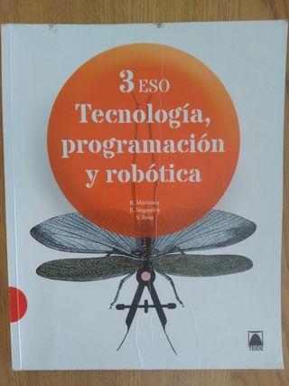 Libro Tecnología, programación y robótica 3°ESO