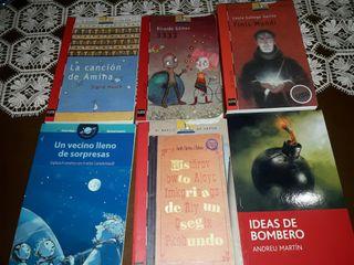6 libros en castellano