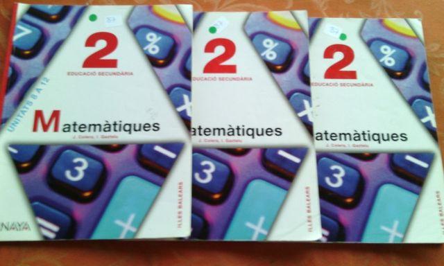 Matemátiques 2 eso