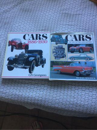 Dos libros de CARS es en inglés