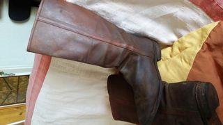 Botos camperos piel ternera