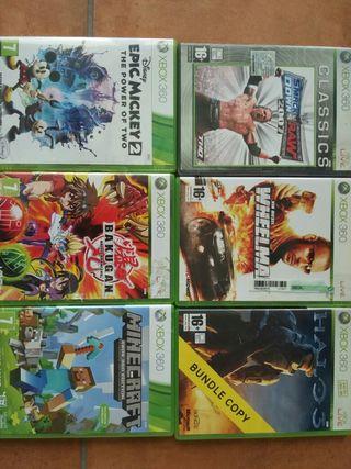 Venta juegos Xbox 360