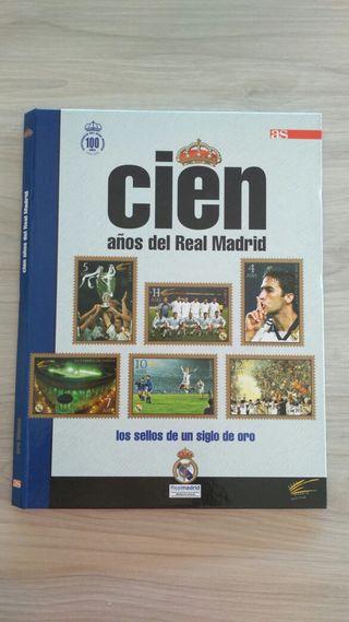 Sellos oro Real Madrid