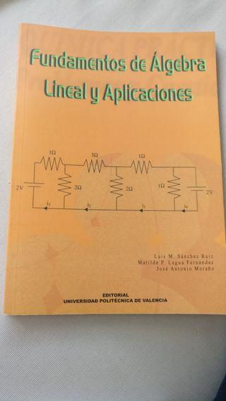 fundamentos de algebra lineal y aplicaciones