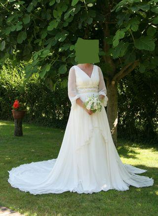 Vestidos de novia color champagne baratos