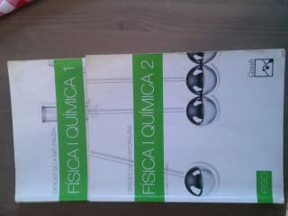 Libros fisica y quimica 2 Eso