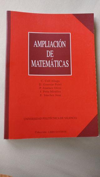 ampliación de matemáticas