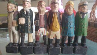 soldados de madera