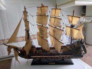 barco fragata del siglo XVII escorial