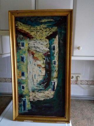 cuadro pintado a mano tlf 636848337