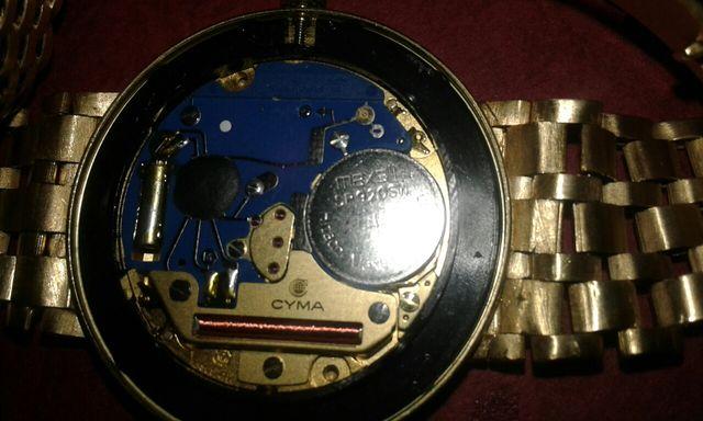 Reloj cyma oro 18k
