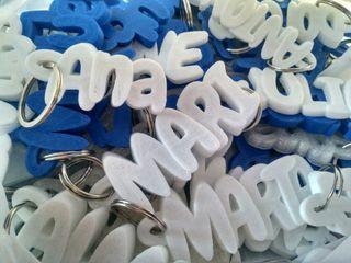 llaveros personalizados con tu nombre