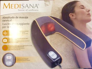 Almohada masaje cervical