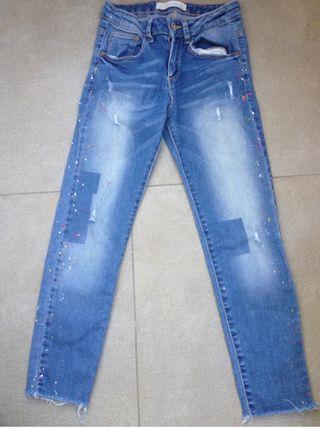 Pantalon niña T-7