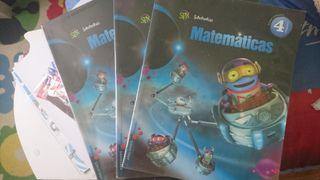 Libro Matematicas 4 primaria